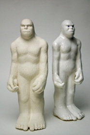 Bigfoot Souvenirs 2012, porcelain, glaze