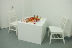 Felt, Chairs, White Cube space