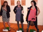 Shannon Noll, Cricket, David Boon, Dennis Lillee, longstitch, craft, art, sculpture, interactive, tape, Nick Cave,