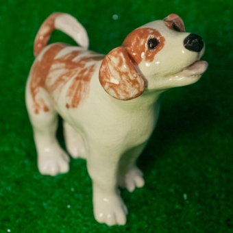 beagle, dog, West Village, Greenwich House Pottery, New York City,