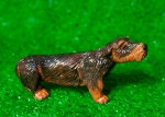 Saltwater, Salty, miniature dachshund, wire terrier, dog, west village, new york city, new york, Greenwich House Pottery