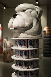 bulldogs, footscray, ceramic, craft, beer, PBR, coyote teeth, Australia, Australian Rules Football