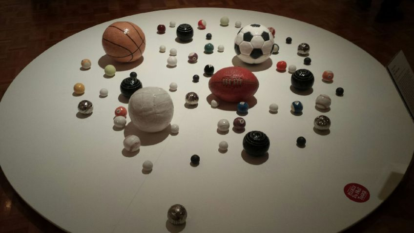 ceramic, balls, CHAP, City of Hobart Art Prize, sports